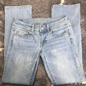 American Eagle Kick Boot Stretch Jeans Boot Cut 6